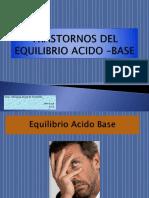 Clase Trastornos Del Equilibrio Acido –Base