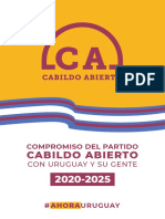 Programa de gobierno de Cabildo Abierto