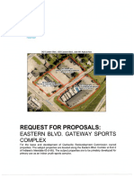 Indoor Sports Complex RFP
