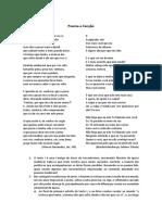 Poema e Canção