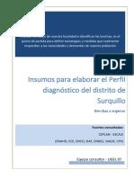 1.4 Diagnóstico Surquillo