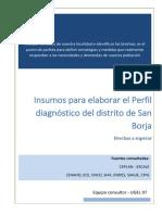 1.5 Diagnóstico San Borja