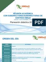 PRESENTACIÓN PARA REUNIÓN CON SUBDIRECTORES 15 DIC 2016.pptx