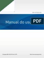MANUAL SAMSUMG A7 2018