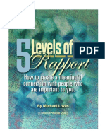 The 5 Levels of Rapport