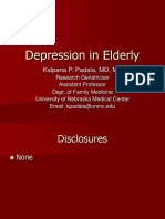 Depression Elderly