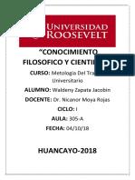 CONOCIMIENTO FILOSOFICO Y CIENTIFICO.docx