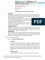 2.- ESPECIFICACIONES ESPECIFICAS