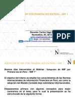 NIIF 1 PERU