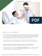 Atividades Privativas Do Enfermeiro - Enfermeiro Aprendiz
