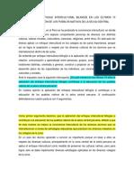 Aplicación Del Enfoque Intercultural Bilingüe