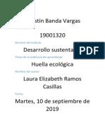 Banda Agustin Huella Ecologica