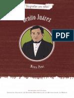 Benito Juárez, Biografías Para Niños. Colección INEHRM