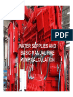 WATER SUPPLIES AND FIRE PUMP CALCULATION.pdf