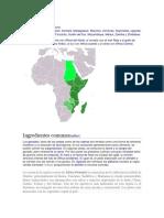 informacion básica sobre Africa Oriental