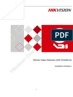 Hikvision ITS Traffic Flow Detection TCD203-A Installation Guide201809