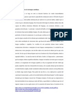 Recorrido Histórico de La Lengua Castellana