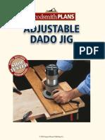 Adjustable Dado Jig