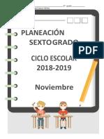 06 Planeacion Noviembre6to 18 19 Nueva