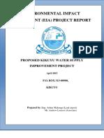 Final ESIA Report for Kikuyu Water Supply1