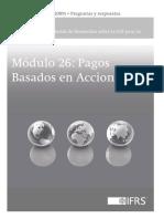 MODULO 26 PAGOS BASADOS EN ACCIONES