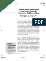 Fibromialgia  - aspectos fisiopatológicos