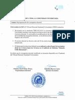 Comunicado TEEU Reprogramación del cronograma electoral