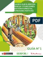 Manejo Forestal Comunitario - Guía 01-2019 - Serfor 2019