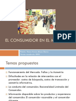 3.1 El Coconhvhnsumidor en El Mercado