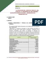 Resumen Ejecutivo de Orccobamba