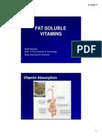 (3) Fat Soluble Vitamin.pptx