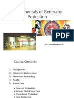 Fundamentals Of Generator Protection