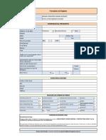 Formulario de Registro Curso Ms Project