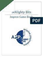 naughty bits improv game book