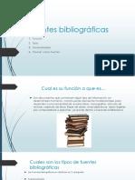 Fuentes Bibliográficass