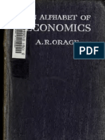"A. R.  Orage, ""Alfabetul economic"" (An Alphabet of Economics"")"