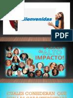 Cuál Te Impacta Tema Movilizacion Mujeres de Alto Impacto