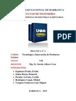 Informe 4 de Tecno de Lacteos.docx