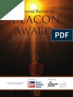 2016 Beacon Awards Magazine
