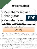 guttae, netralisasi
