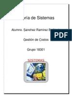 Teoria de Sistemas , Sanchez Ramirez Brandon Alexis