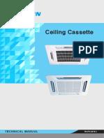 Daikin Ceiling Cassette TM FFC 0515 C