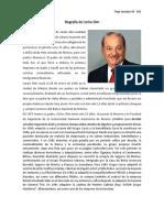 Biografia de Carlos Slim