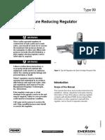 Manual 99 Pressure Reducing Regulator Fisher en 123040