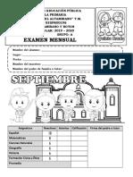 Examen5toGradoMesSeptiembre2019-20M