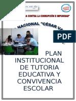 Plan Tutorial Institucional