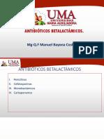 Antibióticos betalactamicos