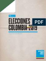 Guía Electoral Provida Colombia 2019