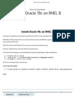 Install Oracle 19c on RHEL 8 _ Tiento
