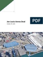 Joe Louis Arena_October 24th PED Presentation